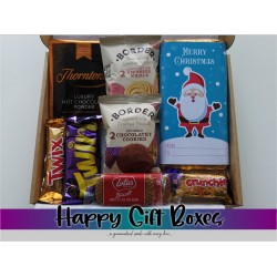 Christmas Chocolate Small Gift Box with Biscuits & Custom...