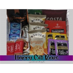 Tea & Coffee Lovers Medium Gift Box with Biscuits
